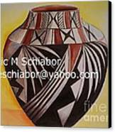 Indian Pottery Canvas Print