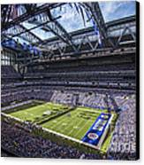 Indianapolis Colts 3 Canvas Print by David Haskett
