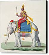 Indra Or Devendra, From Linde Canvas Print