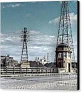 Industrial Detroit Canvas Print