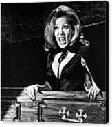 Ingrid Pitt In The House That Dripped Blood  Canvas Print by Silver Screen