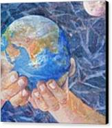 Inherit The Earth Canvas Print