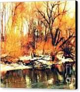 Inizio Inverno Canvas Print by Halina Nechyporuk