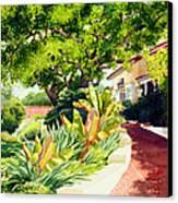 Inn At Rancho Santa Fe Canvas Print by Mary Helmreich