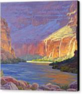 Inner Glow Of The Canyon Canvas Print