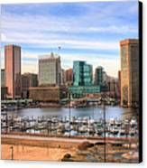Inner Harbor Canvas Print by JC Findley