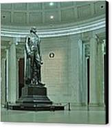 Inside The Jefferson Memorial Canvas Print