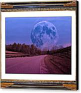 Inspiration In The Night Canvas Print