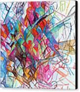 Interchange Between Ambition And Restraint 2 Canvas Print by David Baruch Wolk