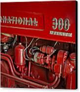 International 300 Utility Harvester Canvas Print by Susan Candelario