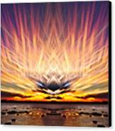 Intersections In The Sky Canvas Print