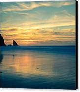 Into The Blue IIi Canvas Print by Marco Oliveira