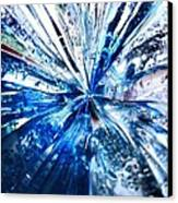 Into The Icy Blue Canvas Print