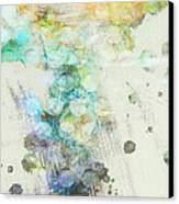 Inversion Abstract Art Canvas Print by Ann Powell
