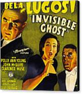 Invisible Ghost Canvas Print by Monogram Pictures
