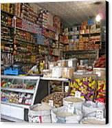 Iran Shiraz Shop Owner Canvas Print by Lois Ivancin Tavaf