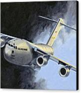 Iraqi Bound Canvas Print by Karen Wilson