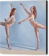 Irina Dancing Canvas Print by Paul Krapf