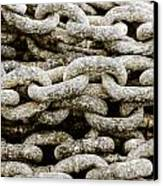 Iron Chains. Canvas Print by Slavica Koceva