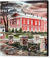 Iron County Courthouse No W102 Canvas Print by Kip DeVore