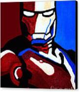 Iron Man 2 Canvas Print by Barbara McMahon