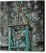 Ironwork In The Quarter Canvas Print