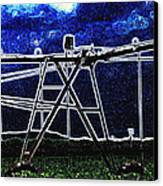 Irrigation Canvas Print by Wendy J St Christopher
