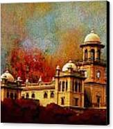 Islamia College Lahore Canvas Print by Catf