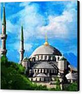 Islamic Mosque Canvas Print by Catf
