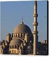 Islamic Mosque Istanbul, Turkey Canvas Print by Mark Thomas