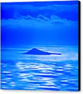 Island Of Yesterday Wide Crop Canvas Print by Christi Kraft