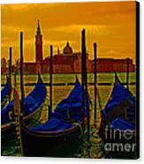 Isola Di San Giorgio Maggiore In Venice Canvas Print by Al Bourassa