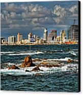 Israel Full Power Canvas Print