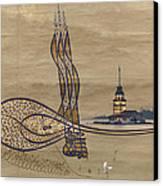 Istanbul Canvas Print by Ayhan Altun