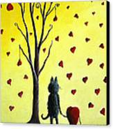 It Must Be Love By Shawna Erback Canvas Print
