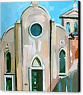 Italian Church Canvas Print by Filip Mihail
