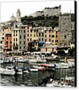 Italian Seaside Village Canvas Print