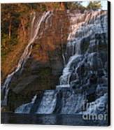 Ithaca Falls  --  Late Afternoon Canvas Print by Anna Lisa Yoder