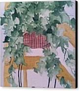 Ivy Canvas Print by Sherry Harradence