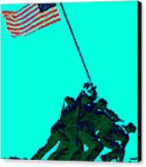 Iwo Jima 20130210m128 Canvas Print by Wingsdomain Art and Photography