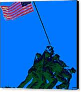 Iwo Jima 20130210m88 Canvas Print by Wingsdomain Art and Photography