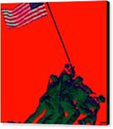 Iwo Jima 20130210p65 Canvas Print by Wingsdomain Art and Photography