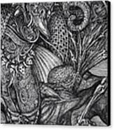 Jabberwockie Canvas Print