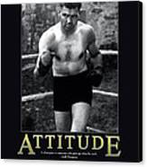 Jack Dempsey Attitude Canvas Print