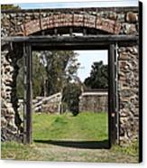 Jack London Ranch Winery Ruins 5d22128 Canvas Print