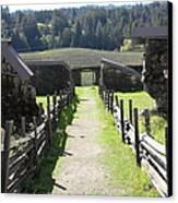 Jack London Ranch Winery Ruins 5d22180 Canvas Print