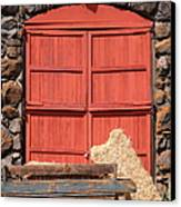 Jack London Stallion Barn 5d22103 Canvas Print by Wingsdomain Art and Photography