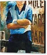 Jack Nicklaus Canvas Print by Christiaan Bekker