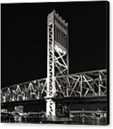 Jacksonville Florida Main Street Bridge Canvas Print