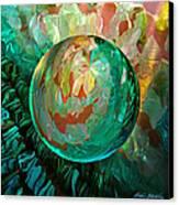 Jaded Jewels Canvas Print by Robin Moline